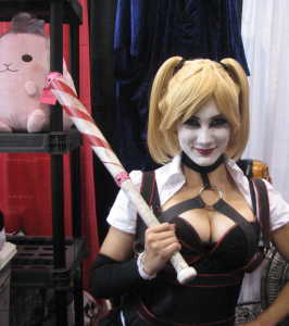 Harley Quinn cosplayer